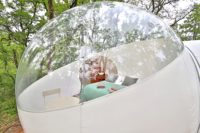 nuit insolite en bulles dans le tarn